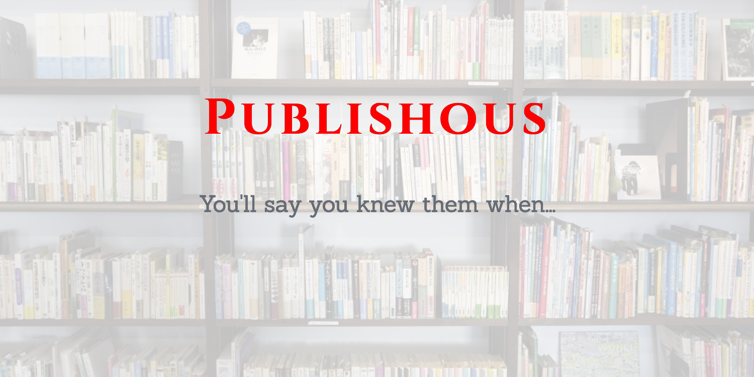 Dreaming Of Publishous!