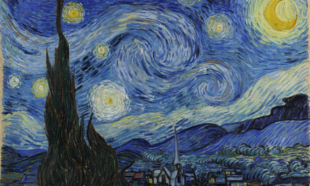 How to paint yourself a Van Gogh's StarryNight