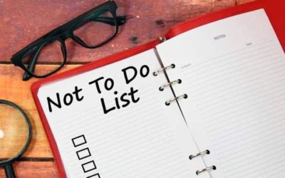This Not-To-Do List Is Just As Important As Your To-Do List