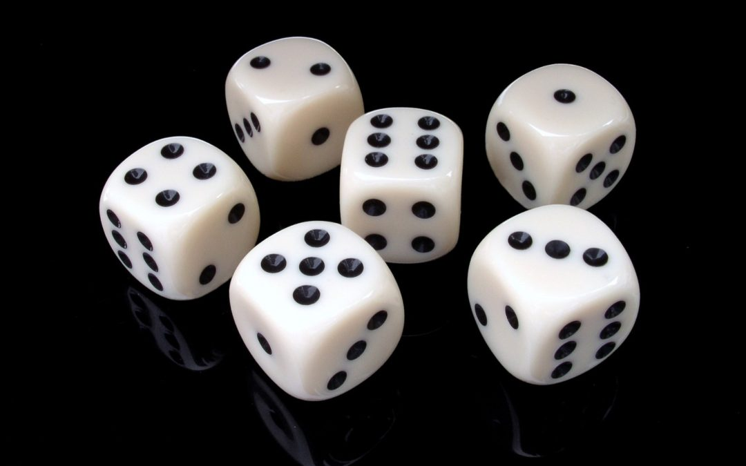 Writing is Like Yahtzee