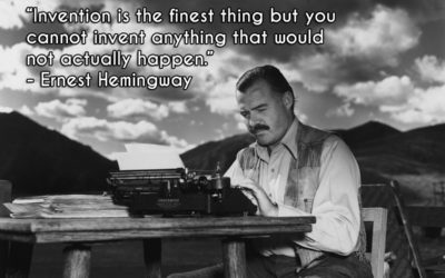 Ernest Hemingway's Tips to Improve Your Writing, Be Creative and Lead a Writer's Life