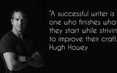 Tips on Self-Publishing and the Writing Process From Hugh Howey